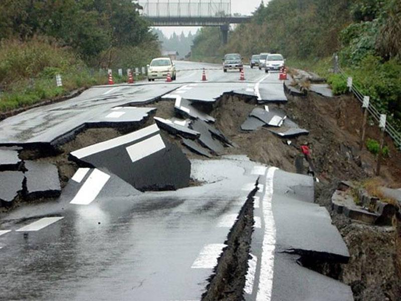 Landslide Hazard – Earthquake | Coastal Hazards of the